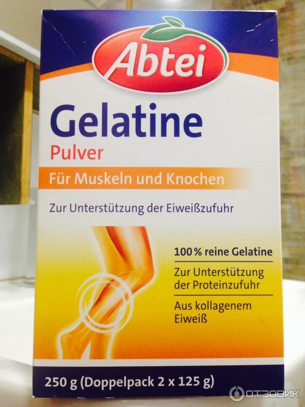 Питьевой желатин для суставов немецкий лечить суставы маслом ги