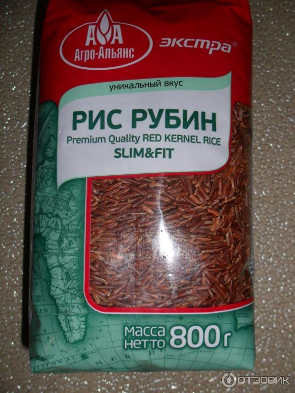 Рубиновый рис похудение
