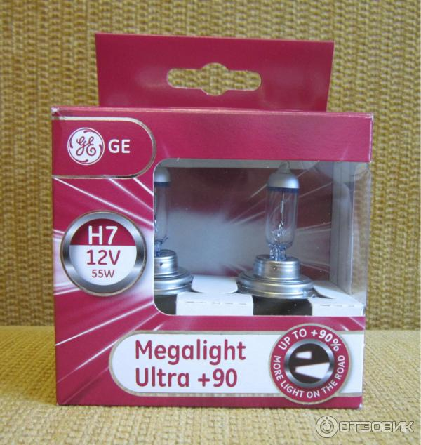 General electric megalight ultra 90