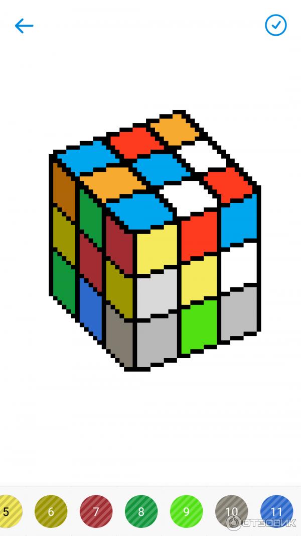 отзыв о раскраски по номерам Sandbox приложение для