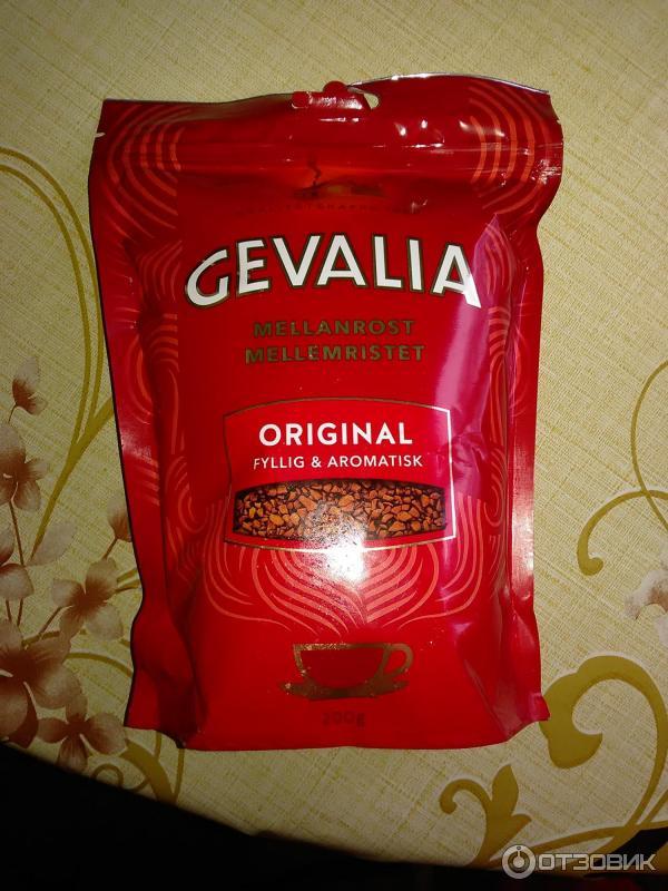 растворимый кофе гевалия фото черта