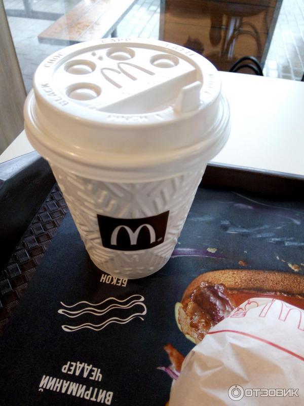 макдоналдс кофе фото шоколадная