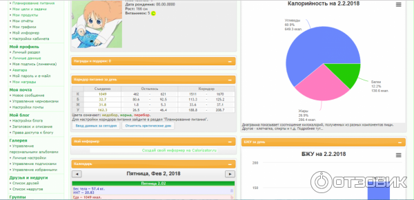 0df063fbb1e8 Отзыв о Calorizator.ru - анализатор калорийности продуктов   Помог ...