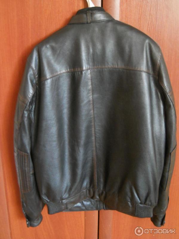 b695927f707 Отзыв о Кожаная куртка Bugatti