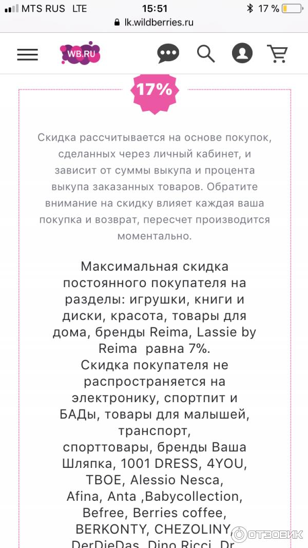 9ac138a1565 Отзыв о Wildberries.ru - интернет-магазин модной одежды