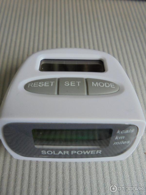 шагомер solar power инструкция на русском