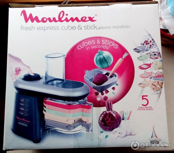 great look where to buy cheap Отзыв о Мультирезка Moulinex Fresh Express Cube & Stick ...