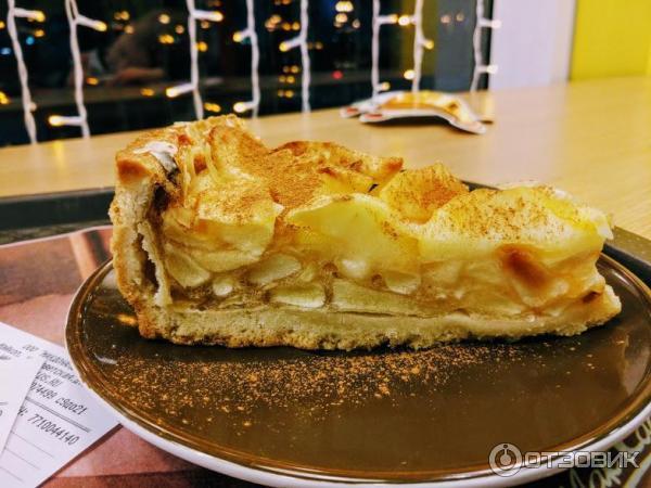 готовностью яблочный пирог из маккафе рецепт с фото эти выходные