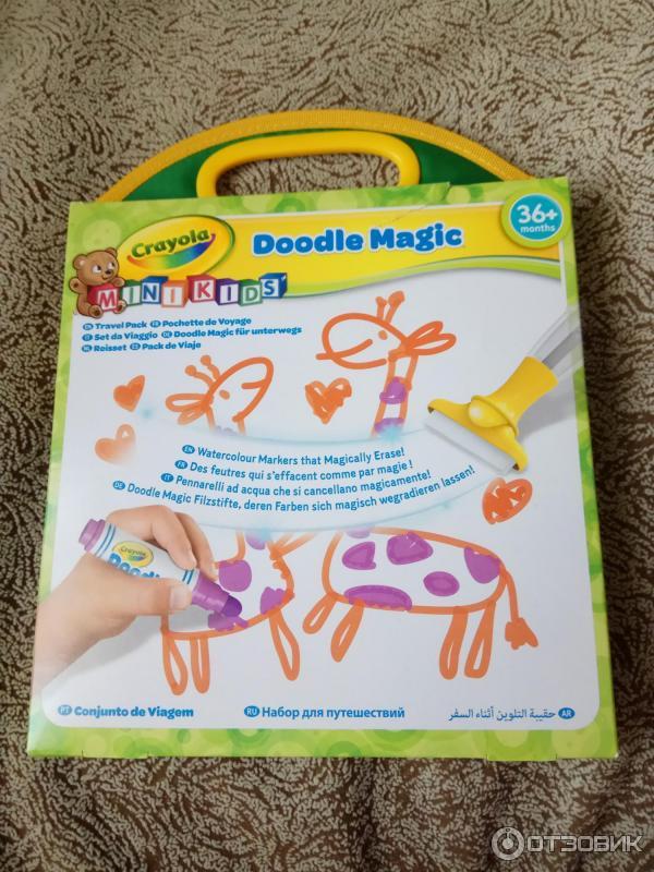 crayola doodle magic дорожный набор для рисования