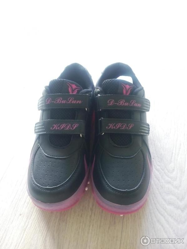 b7425127 Отзыв о Кроссовки детские D-Bulun | Крутые кроссовки с роликами и ...