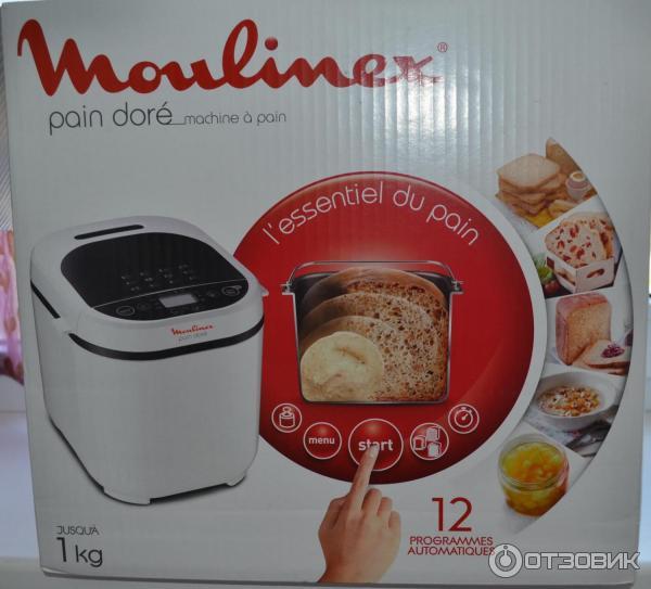 Хлеб в хлебопечке мулинекс 210130