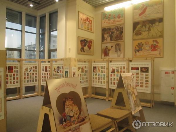 Музей русской открытки, новые куклы