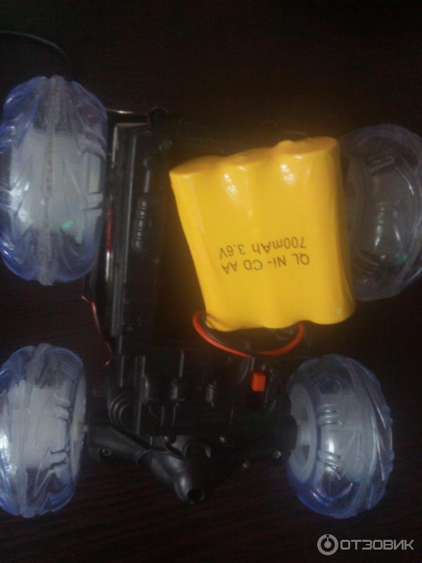 Радиоуправляемая машинка - перевертыш Stunt Car фото