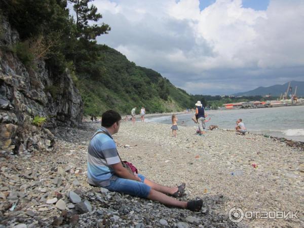 Дикий пляж туапсе фото