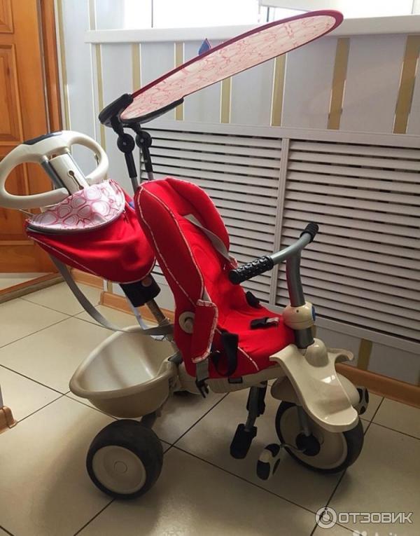 Otzyv O Trehkolesnyj Velosiped Smart Trike Recliner Stroller