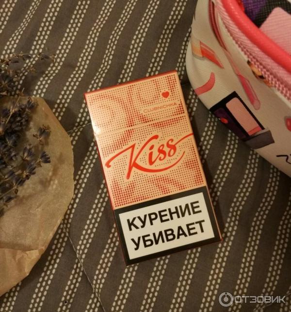 кисс клубника сигареты купить
