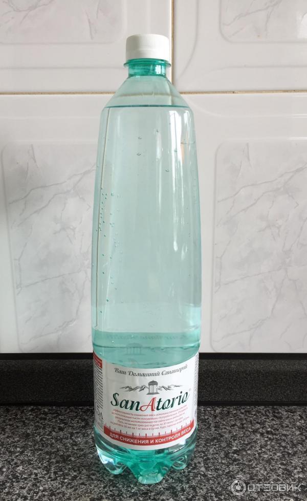 Вода для похудения sanatorio