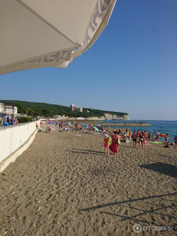 Дивноморское пляжи фото энергетик
