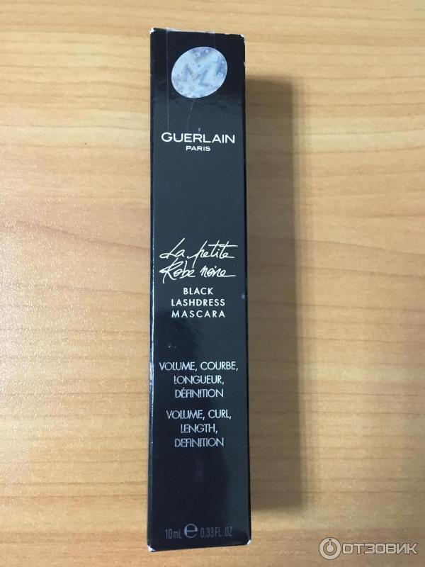 d1d2c16159a Отзыв о Тушь для ресниц Guerlain La Petite Robe Noire