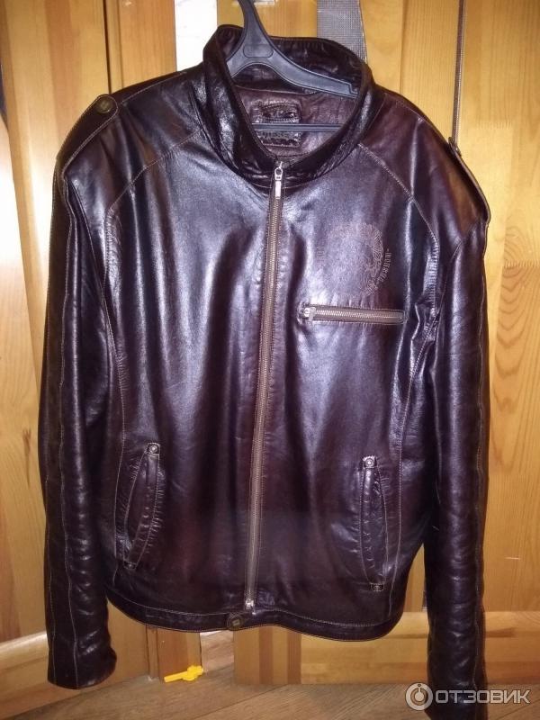 945ebc00f99 Отзыв о Мужская кожаная куртка Diesel