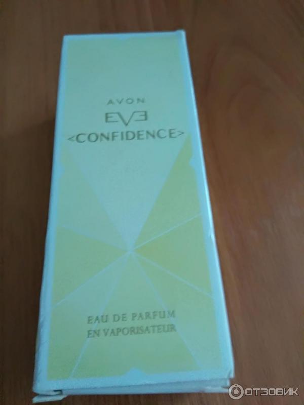 отзыв о парфюмерная вода Avon Eve Confidence как будто согревает