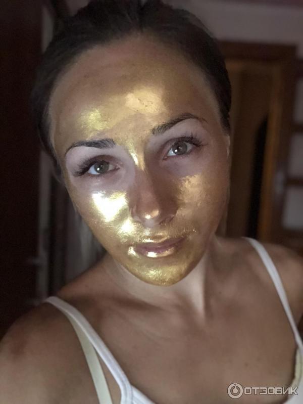 отзыв о золотая маска для лица Bobana очень хорошая маска
