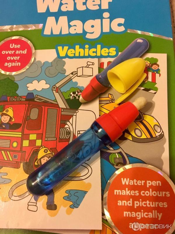 отзыв о водные раскраски с карандашом Galt Water Magic
